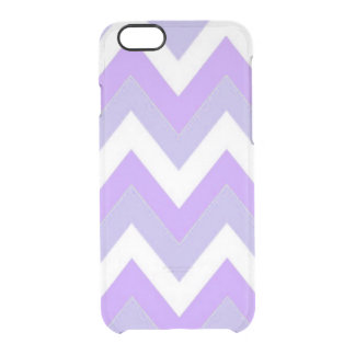 Purple Chevron iPhone 6/6s Clearly™ Deflector Case