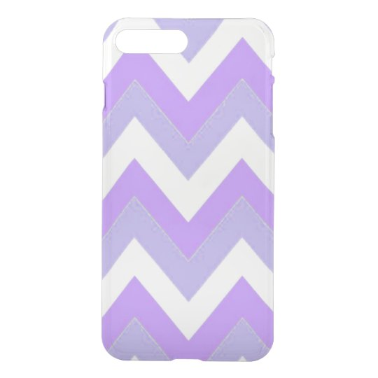 Purple Chevron iPhone 8 Plus/7 Plus Clearly™ Case