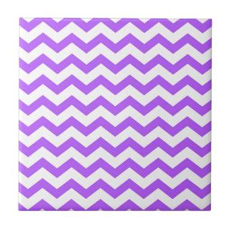 purple chevron stripes tile