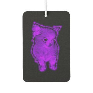 Purple Chihuahua Air Freshener