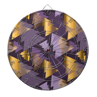 purple christmas trees dartboard
