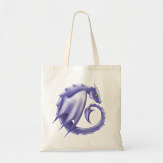 Purple circle dragon tote 1