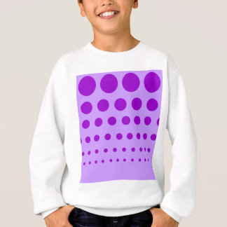 Purple Circles Graduated Sweatshirt