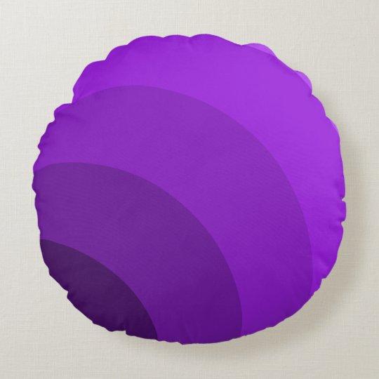 Purple Circles Pillow