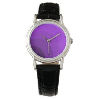 Purple Circles Watch
