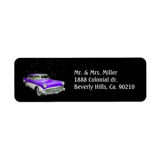 Purple Classic Muscle Car Birthday Bash