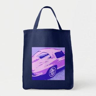 Corvette Tote Bags Corvette Canvas Bags