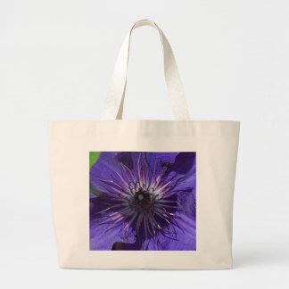 Purple Clematis Bag