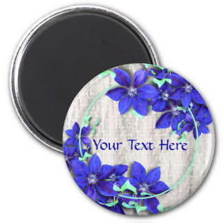 Purple Clematis Celebration Magnet