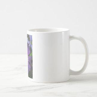 Purple Clematis Flower Coffee Mugs