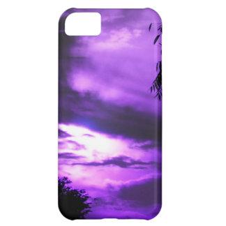 Purple Clouded Sky iPhone 5  case