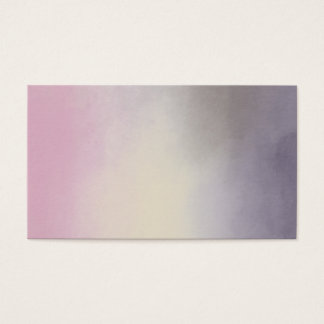Purple Clouds Spiritual Sky Light Business Card