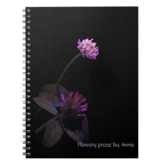 Purple Clover Notebooks