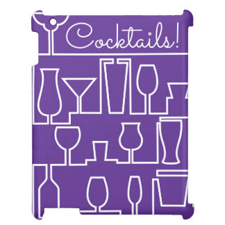Purple cocktail party case for the iPad 2 3 4