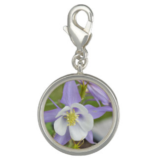 Purple Columbine Photo Charm