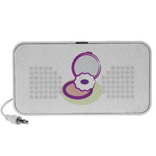 Purple Compact Travelling Speakers