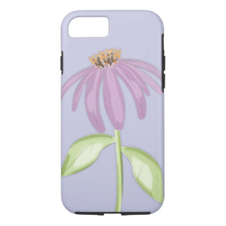 Purple Cone Flower Cell Phone Case
