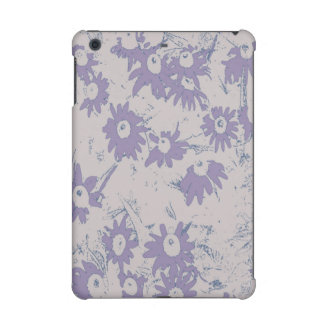 Purple Cone Flowers with Grey Background iPad Mini Cases