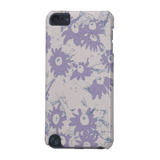 Purple Cone Flowers with Grey Background iPod Touch 5G Case