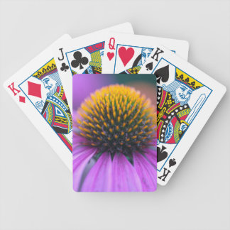 Purple coneflower (Echinacea purpurea) Bicycle Playing Cards