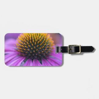 Purple coneflower (Echinacea purpurea) Luggage Tag