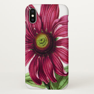 Purple Coneflower iPhone X Case