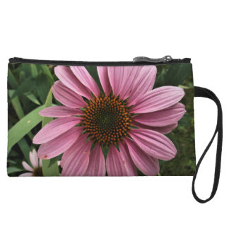 Purple Coneflower Wristlet