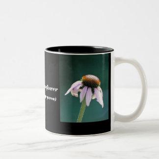 Purple Conflower Coffee Cup