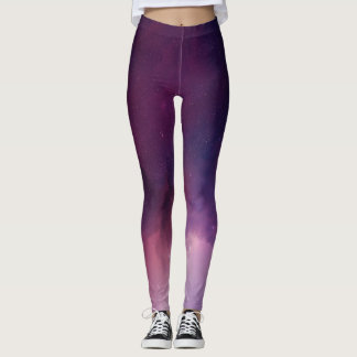 Purple Constellation Leggings