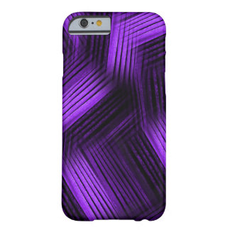 Purple Contemporary Abstract Barely There iPhone 6 Case