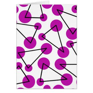 """Purple Corners"" Card"