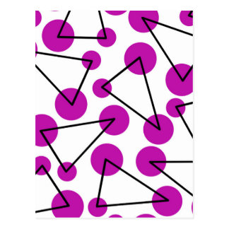 """Purple Corners"" Postcard"