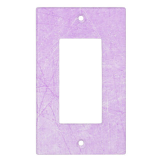 Purple Crackle Light Switch Cover