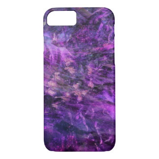 Purple Craziness iPhone 7 Case