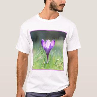 Purple Crocus in spring 03.3 T-Shirt