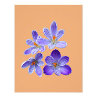 Purple crocuses 02.4 letterhead