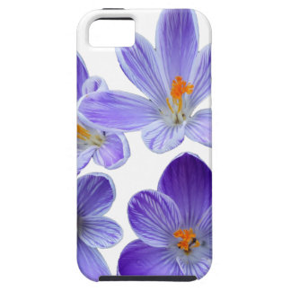 Purple crocuses 02 case for the iPhone 5