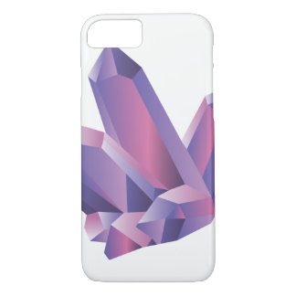 Purple Crystal Cluster | iPhone Case