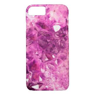 Purple Crystals iPhone Case