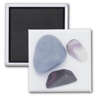 Purple Crystals Magnet