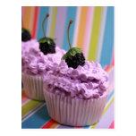 Purple Cupcakes Postcards