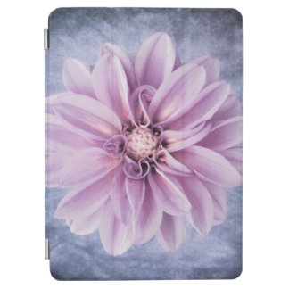 Purple Dahlia Flower Closeup Colorful Floral iPad Air Cover
