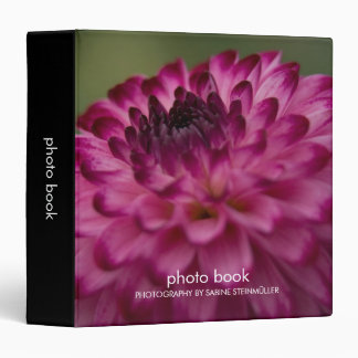 Purple Dahlia Photo Book Binder