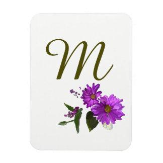 Purple Daisies Design  Magnet