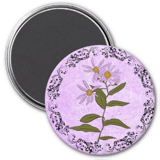 Purple Daisies Magnet
