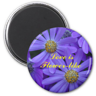 Purple Daisies - Magnet #3