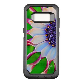 Purple Daisy Elegant Floral Girly Flower OtterBox Commuter Samsung Galaxy S8 Case