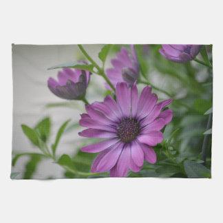 Purple Daisy Kitchen Towel