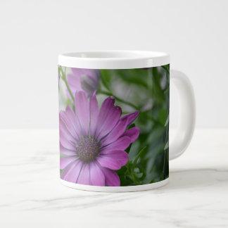 Purple Daisy Large Coffee Mug