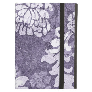 Purple damask - plant motif elegant case